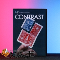 2017 New Contrast DVD And Gimmick By Victor Sanz And SansMinds DVD Close Up Card Magic