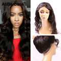 Malaysian Body Wave 360 Lace Frontal Band 8A Unprocessed Virgin Hair Full Lace Frontal Closure 360 New Style Natural Hairline