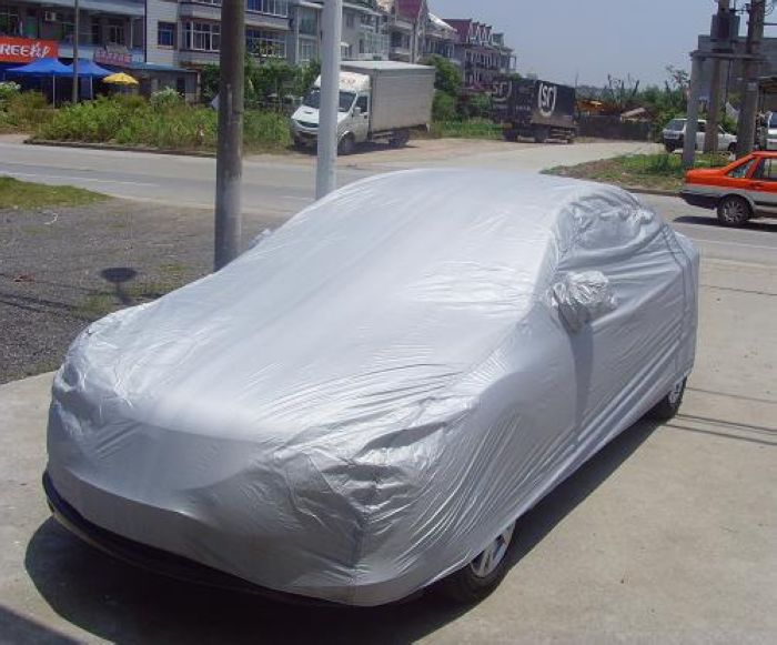 Image 2 - Single layer car clothing sunscreen dustproof waterproof full car cover sunscreen anti UV snow and rain protection new dfdf-in Car Covers from Automobiles & Motorcycles