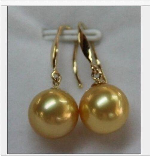 Livraison gratuite MAGNIFIQUE 10-11mm ronde naturelle du sud mer boucles doreilles perle dor 14 KLivraison gratuite MAGNIFIQUE 10-11mm ronde naturelle du sud mer boucles doreilles perle dor 14 K