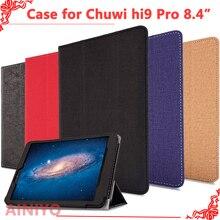 Защитный чехол для CHUWI Hi9 pro Tablet PC, новейший модный чехол для chuwi hi9 pro 8,4 дюймов Tablet PC+ пленка в подарок