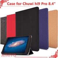 Capa protetora para chuwi hi9 pro tablet pc, mais novo caso de moda para chuwi hi9 pro 8.4 polegada tablet pc + livre filme presentes