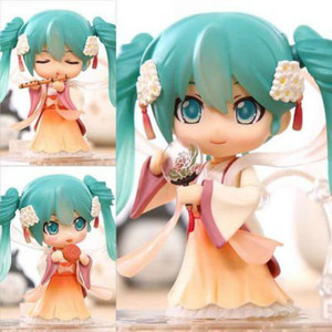 clay Q Japanese Anime Figures Vocaloid Hatsune Miku Harvest Moon Ver. PVC Action Figure Collectible Figurines Model Toys Doll(China)