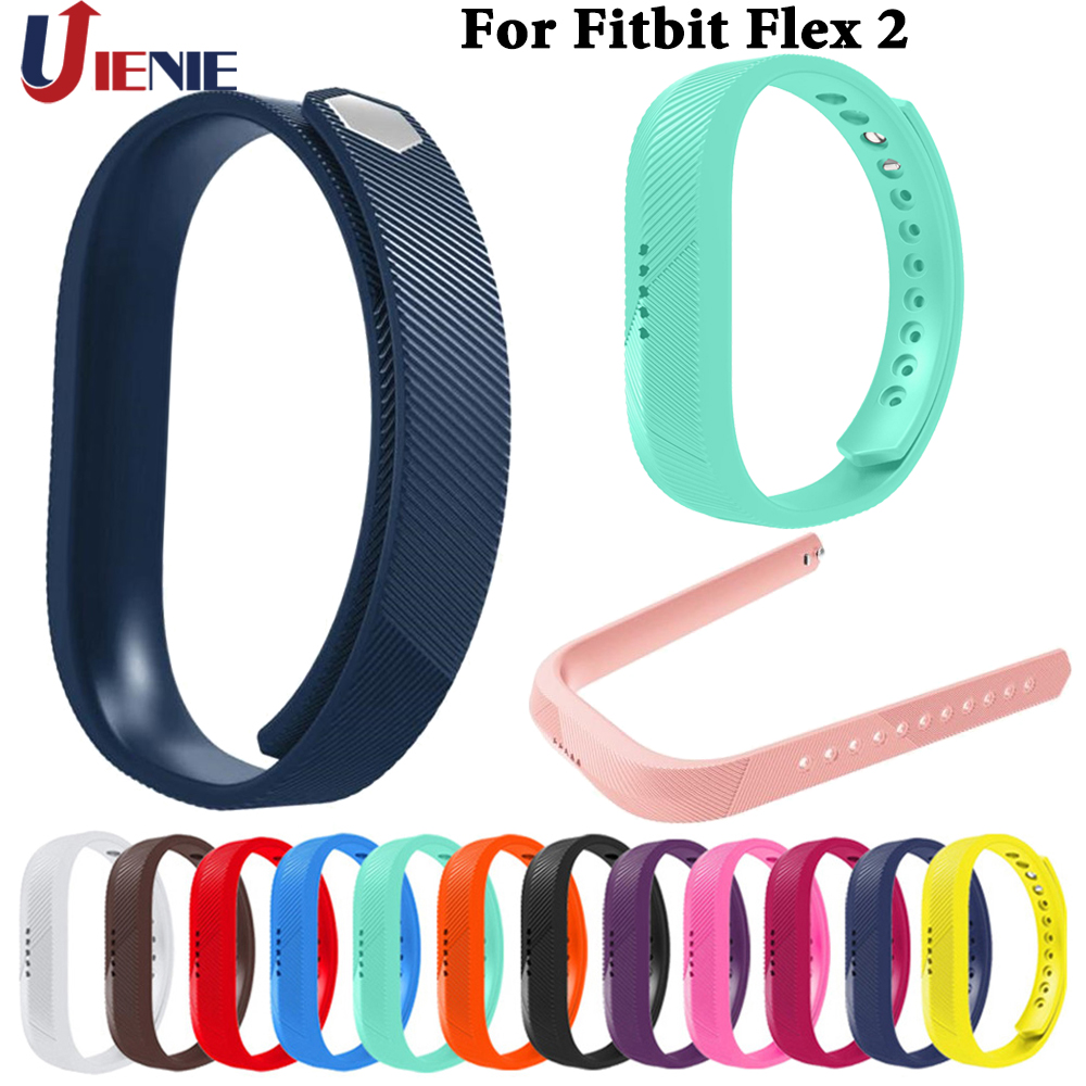 Silicone Watchband Straps For Fitbit Flex2 Smart Watch Band Bracelet Wristband Replacement Sport Band For Fitbit Flex 2 Straps
