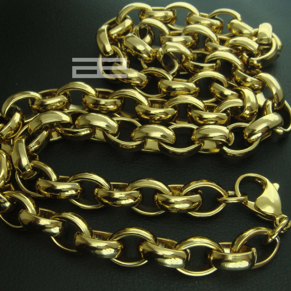 Men classic chains necklace in 60cm long N207