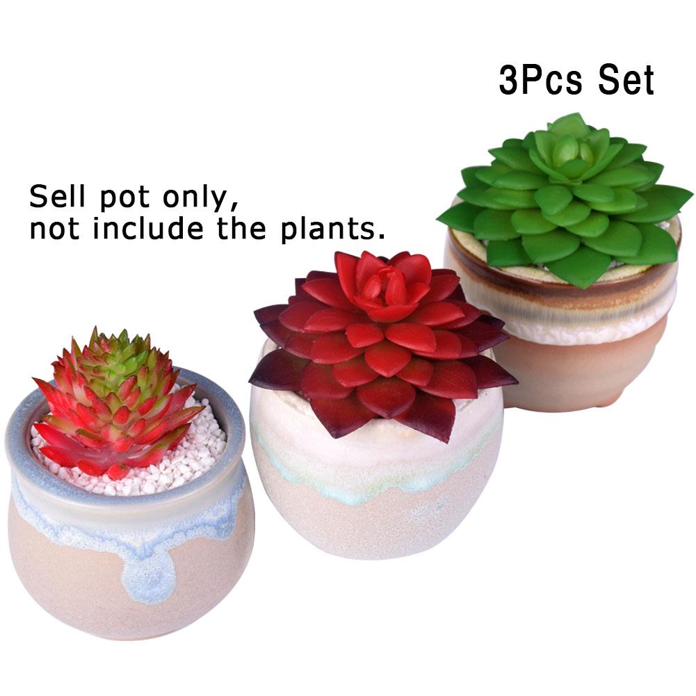 x wituse cermica maceta plantas suculentas maceta bonsai escritorio vertical jardn macetas macetas vasos decorativos de