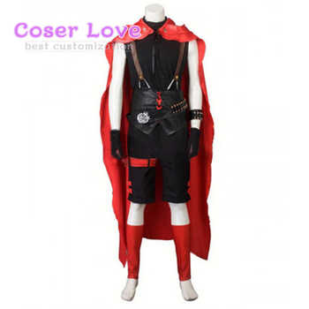 RWBY Red Ruby Rose Male Cosplay costume Carnaval New Years Christmas Halloween Costume - DISCOUNT ITEM  5% OFF All Category