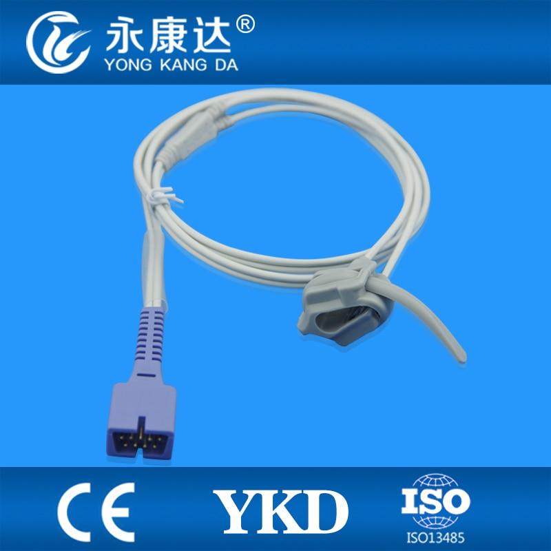 Biolight M700 M800 Neonate Silicon Wrap pulse oximeter spo2 sensor DB9pins