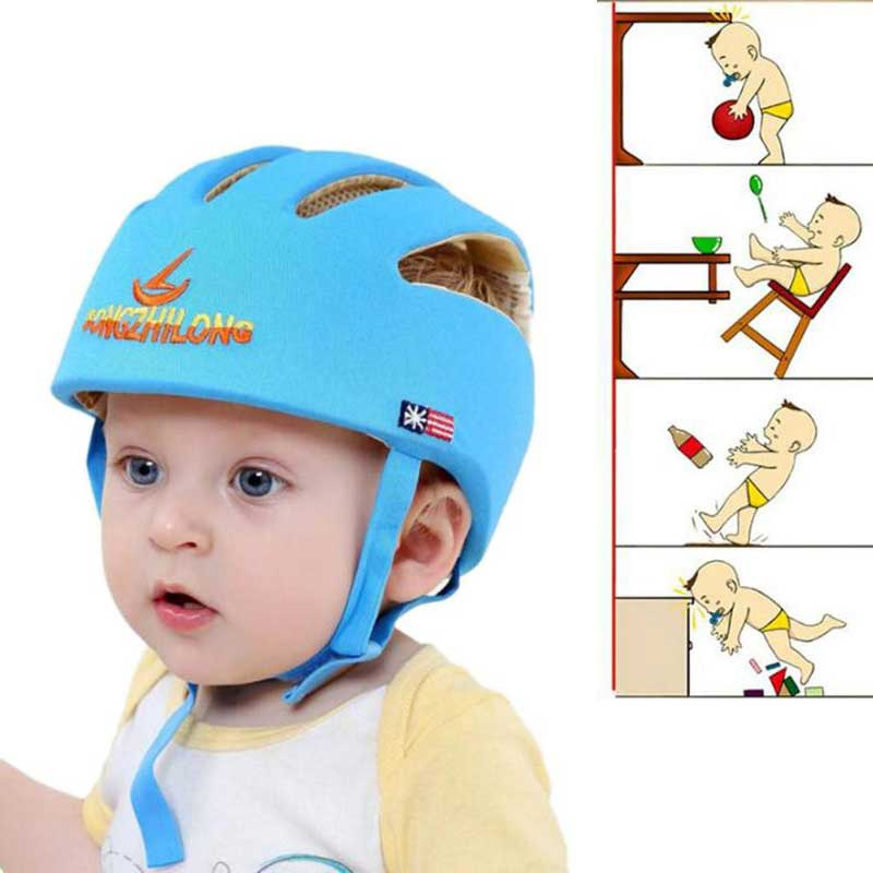 Baby Helmet Safety Protective Helmet For Babies Girl Cotton Infant Protection Hats Children Cap For Boys Girls Capacete Infantil защитный детский шлем