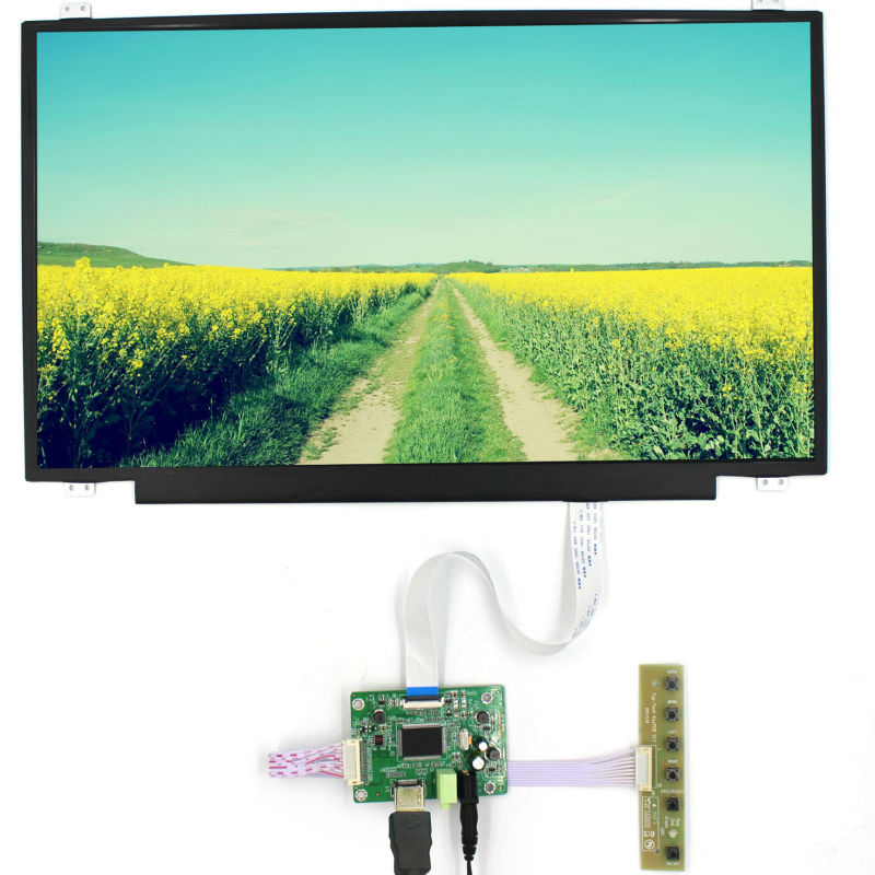 HDMI LCD Controller Board VS-RTD2556H-V1 with 15.6inch NV156FHM-N46 1920x1080 EDP IPS LCD Screen hdmi vga audio lcd controller board with 11 6inch 1920x1080 n116hse ips lcd screen