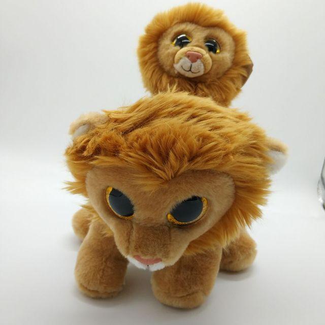 2cb42445b18 louie lion TY BEANIE BOOS 2PCs 25CM and 15CM Plush Toys Stuffed animals  KIDS TOYS VALENTINE