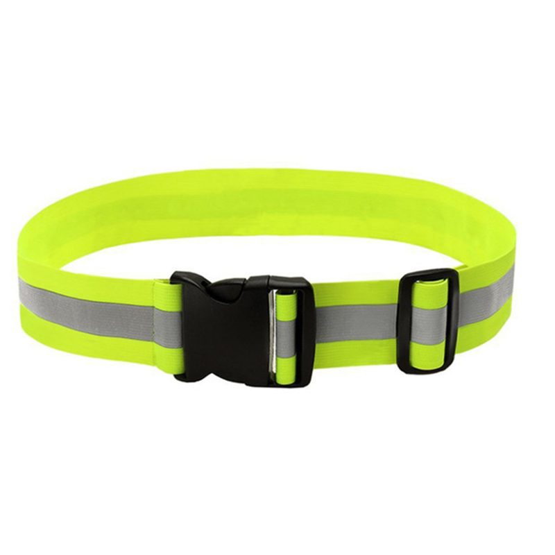 Reflective Safety Vest Belt Pupil Security Reflective Waistcoat Belt Outdoor Running Jogging Cycling