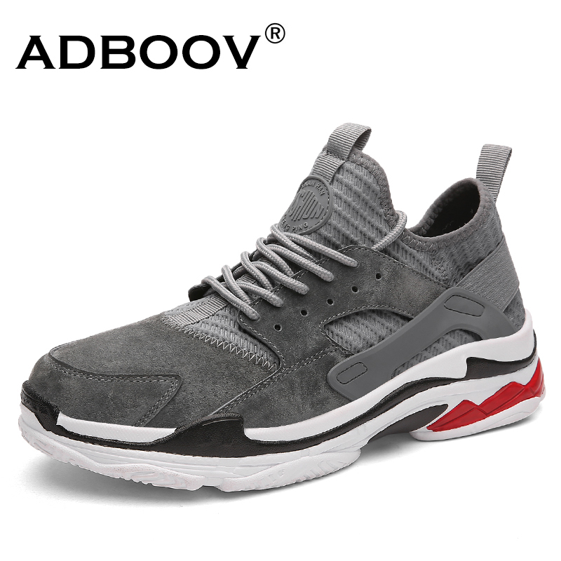 ADBOOV Brand Leather Sneakers Men  Fashion Man Shoes Comfortable Breathable Mens Shoes Casual Erkek Ayakkabi Sapato Masculino
