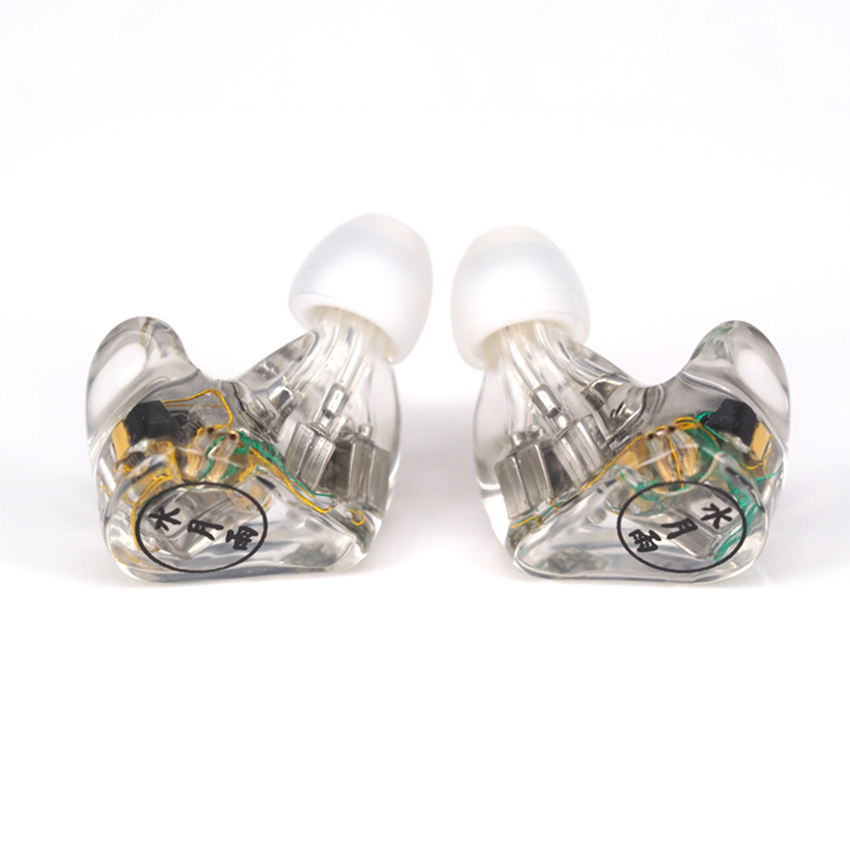 Moondrop A8 8BA 16 Drivers Balanced Armature Custom Made In-ear Earphone HIFI High End Music Monitor DJ Studio Earbuds Earphone