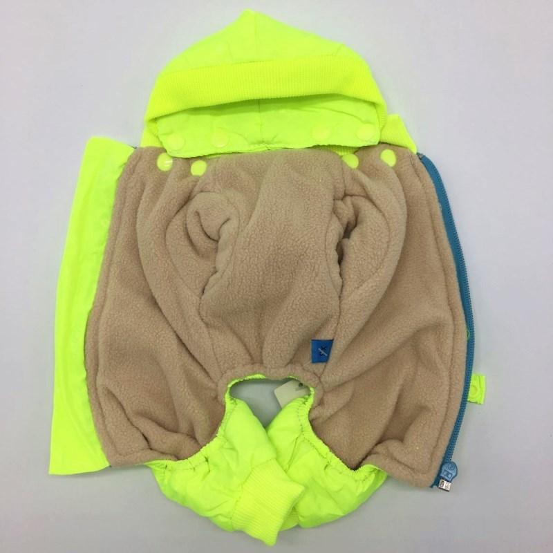De alta calidad de perro de ropa acolchada abrigo de perro repelente al agua de invierno para mascotas perro chaqueta chaleco acogedor cálido traje de ropa