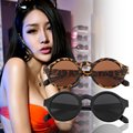 Unisex Vintage Retro Women Men Glasses Vintage Round Mirror Lens Sunglasses 2016 Fashion