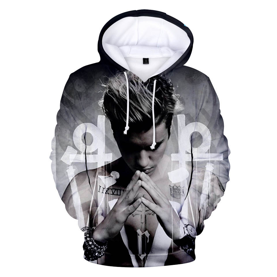 Women's Clothing Strong-Willed Mens Hoodies And Sweatshirts Justin Bieber Purpose Tour Clothes Cool And Fashion Style Hoodie Harajuku Sweatshirt Plus Size 4xl