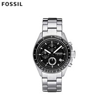 Наручные часы Fossil CH2600IE мужские с кварцевым хронографом на браслете
