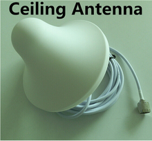 Indoor Ceiling Antenna 850~2500MHz N-male with 5m cable for GSM 2G 3G DCS booster repeater For Mobile Phone Siganl Booster