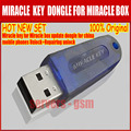 100% Original Miracle key for Miracle box update dongle for china mobile phones Unlock+Repairing unlock