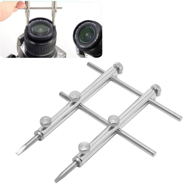 OOTDTY 렌즈 액세서리 10 130MM 휴대용 프로 DSLR 렌즈 스패너 렌치 오프닝 도구 카메라 수리 Dropshipping