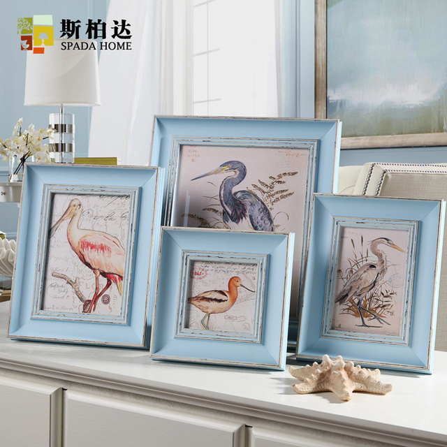Colored Picture Frames Vintage Photo Frame European Style Photo