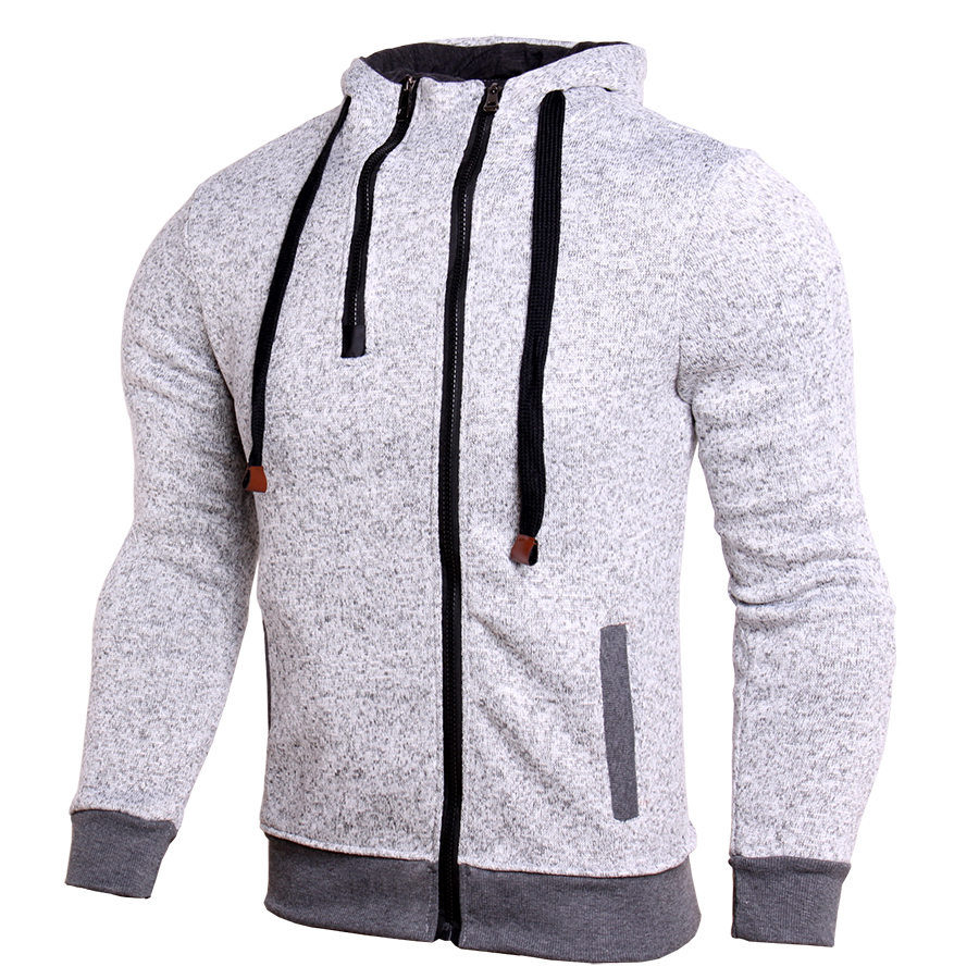 New Men Trainning Exercise Gym Hoodies Sportwear Autumn Winter Hooded Outwear Running Male Hoodie Man Sport Sweatshirts Jacket