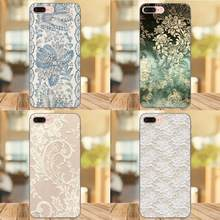 White Burlap Laces Vintage Shell For Galaxy C5 C7 J1 J2 J3 J330 J5 J6 J7 J730 2017 Ace Core Duo Max Mini Plus Prime Pro(China)