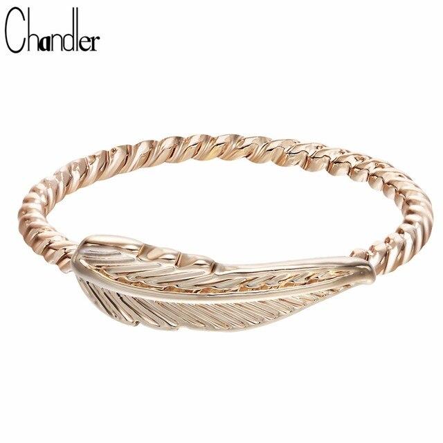 Chandler Feather O Ring Feminino Feminine Minimalist Finger Foot Bague For Women 2017 Jewelry online shopping india sentiment