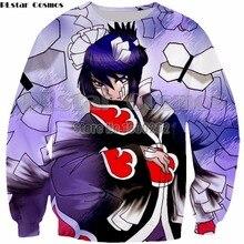 PLstar Cosmos Harajuku style 3d Print Unisex Men Women Anime Naruto Sweatshirt new fashion hoodies Plus size S-5XL