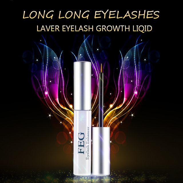 FEG Eyelash Enhancer 100% Original Eyelash Growth Treatment Serum Natural Herbal Medicine Eye Lashes Mascara Lengthening Longer 2