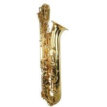 Высококачественный тон Eb золотой лак баритон-саксофон