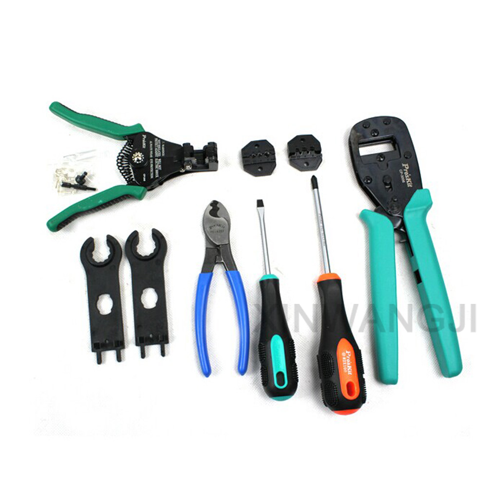 Pro'skit PK 2061 Solar Energy Cut line Precision Crimping Stripping Tools Kit Set Of Tools Specially Designed For Solar Panels - 3