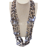 Europe and the United States high end simple hundred to match the style big brand temperament personality necklace
