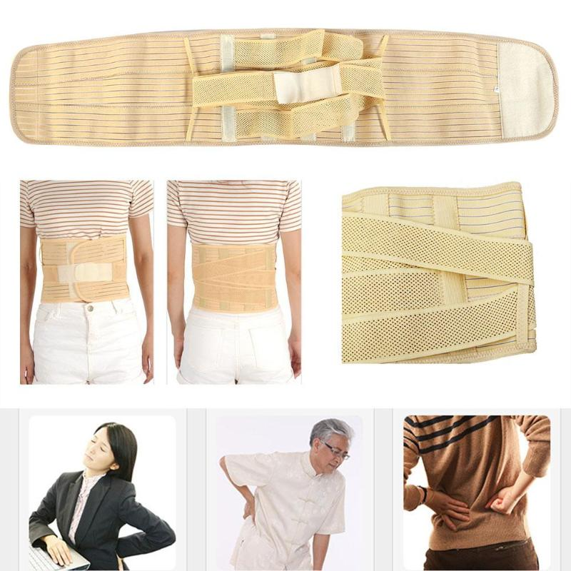 Adjustable Medical Waist Pad Belt Elastic Breathable Waist Support Bone Care Lumbar Support Back Waist For Men Women