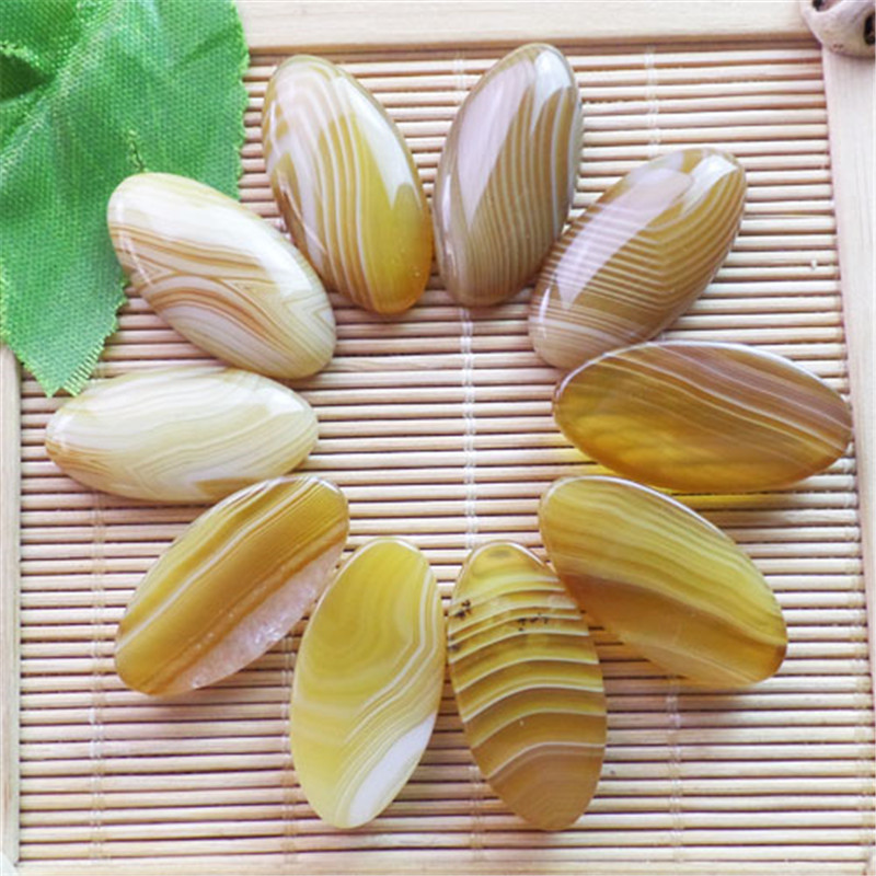 (10 pieces/lot) Wholesale Natural Onyx Agates CAB CABOCHON 30x15x6mm Free Shipping Fashion Jewelry ZY3378