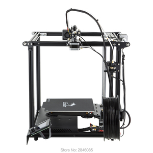Image 4 - CREALITY 3D Printer Ender 5 Dual Y axis Motors Magnetic Build Plate Power off Resume Printing Masks Enclosed Structure
