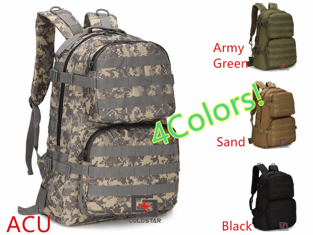 Camo Spring Summer New Canvas Hiking Bag Mens Tactical Military Backpack Solid School Bags Women Mountaineering Backpack