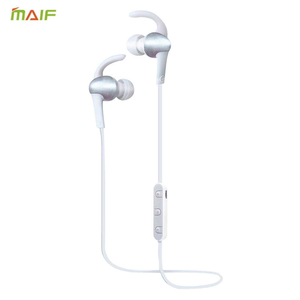 Metal Sports Running Bluetooth Earphone Wireless Earbud Stereo Headset I3 With Mic Headsfree for iphone and Android