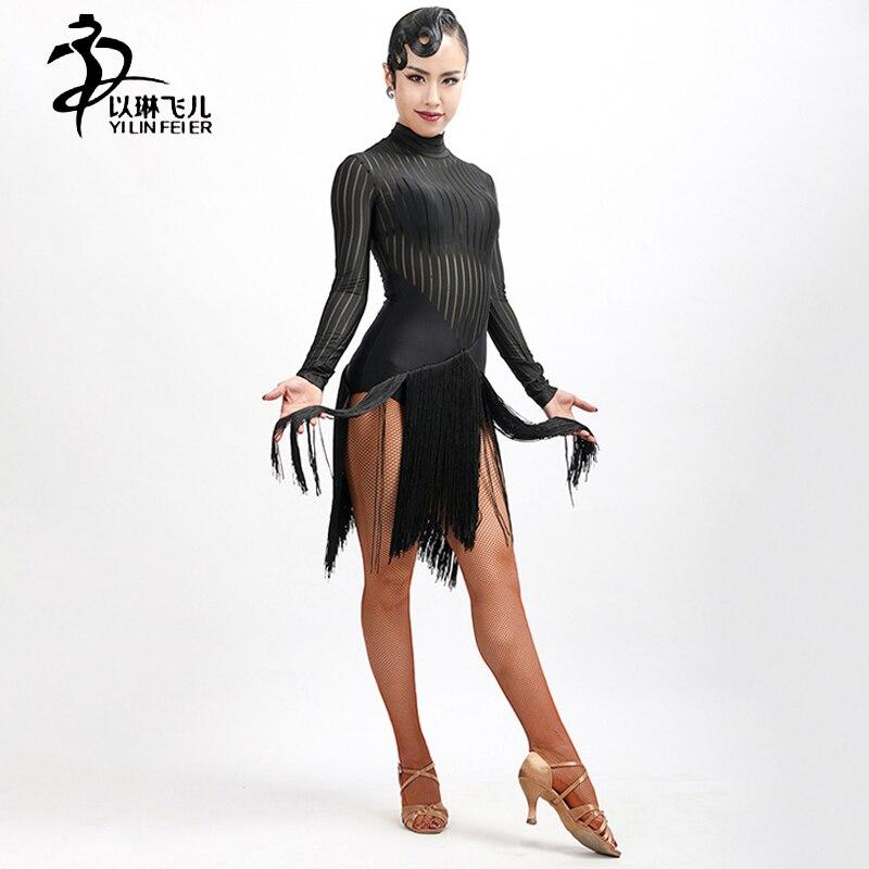 Здесь продается   2017 New latin fringe dress Party&Ballroom Latin Dance&Show Girl/ballroom dress woman  Одежда и аксессуары
