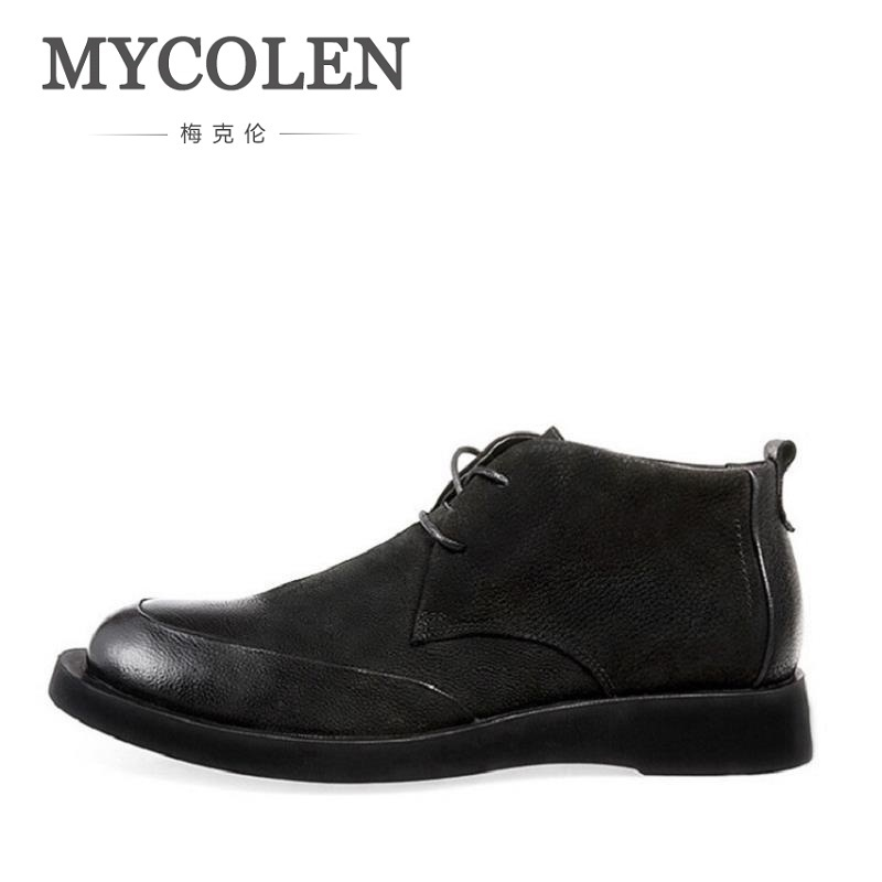 MYCOLEN 2018 Men Shoes British Style Winter Leisure Male Boots Comfortable Snow Boots Popular Male Shoes Tenis Masculino AdultoMYCOLEN 2018 Men Shoes British Style Winter Leisure Male Boots Comfortable Snow Boots Popular Male Shoes Tenis Masculino Adulto