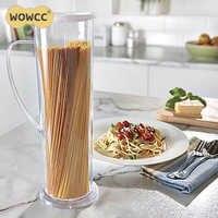 WOWCC herramientas de cocina Express cocineros Spaghetti Pasta fabricante tubo de cocina contenedor rápido fácil cocinar accesorios de cocina