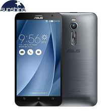 """Original asus zenfone 2 ze551ml 4g lte teléfono móvil quad core 5.5 """"13 mp 1920×1080 nfc android smartphone"""