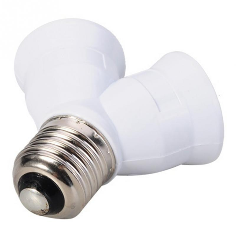 E27 to 2 E27 Light Bulb Lamp Socket Base Adapter Converter Splitter Lamp Holder Converter Bulb lighting