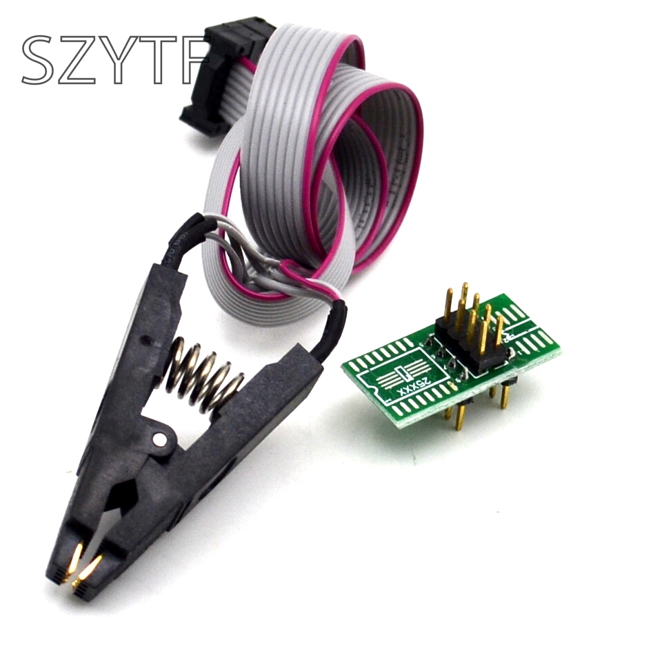 High quality SOIC8 SOP8 Test Clip For EEPROM 93CXX/25CXX/24CXX in-circuit programming on USB Programmer TL866CS TL866A EZP2010High quality SOIC8 SOP8 Test Clip For EEPROM 93CXX/25CXX/24CXX in-circuit programming on USB Programmer TL866CS TL866A EZP2010