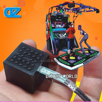 E Dance Famouse Sensor Pedal Sensor Coin Operated Dancing Machine Arcade Dancing Games Amusement Equipments