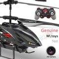 RC Controle Remoto Brinquedos Helicóptero com Câmera de Vídeo HD Photo Tiro Radio 4CH Com Giroscópio WLtoys WL S977