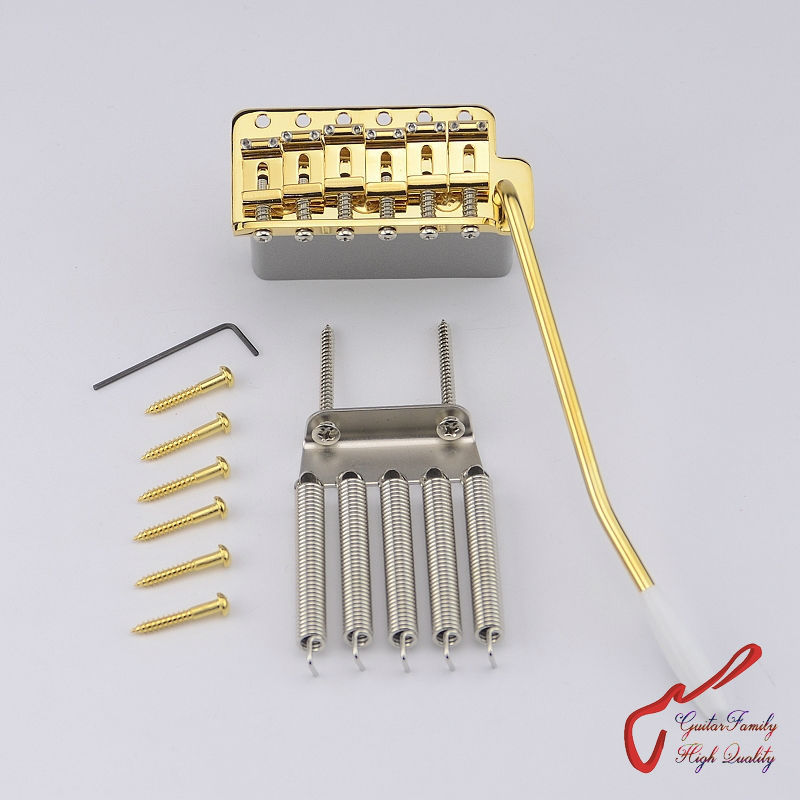 Фотография Genuine Original GOTOH GE101T Vintage Style Electric Guitar Tremolo System Bridge  ( Gold )