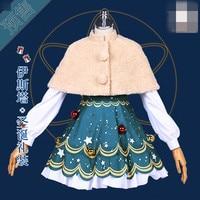 Судьба/Grand для Рождественский подарок Cos платье Косплэй костюм женщина платье o