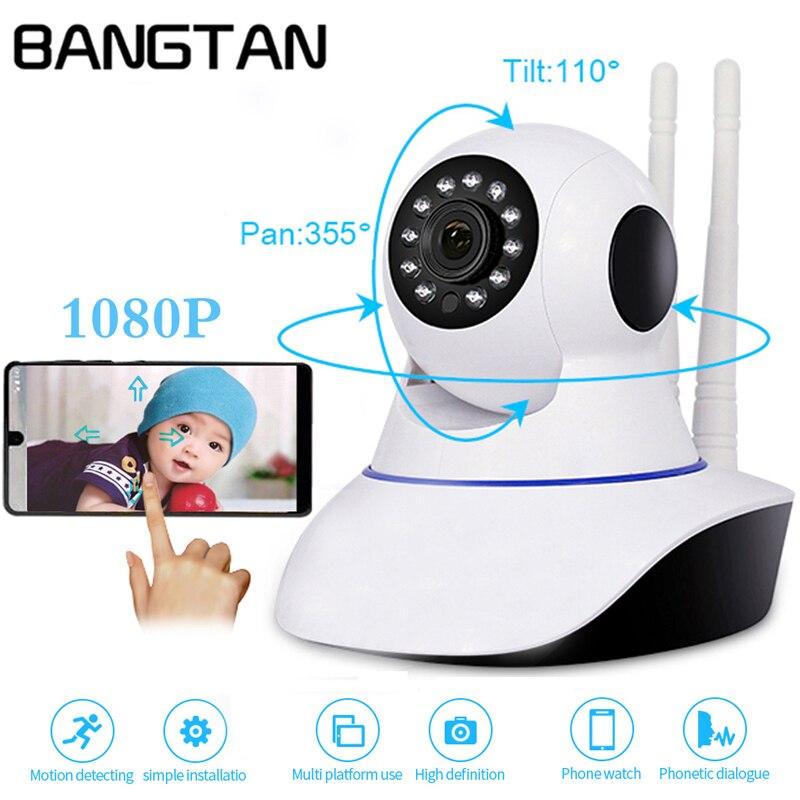 1080P 2MP IP Camera Wireless Home Security Camera Surveillance Smart Camera Wifi CCTV Camera Baby Monitor Two Way Intercom IR